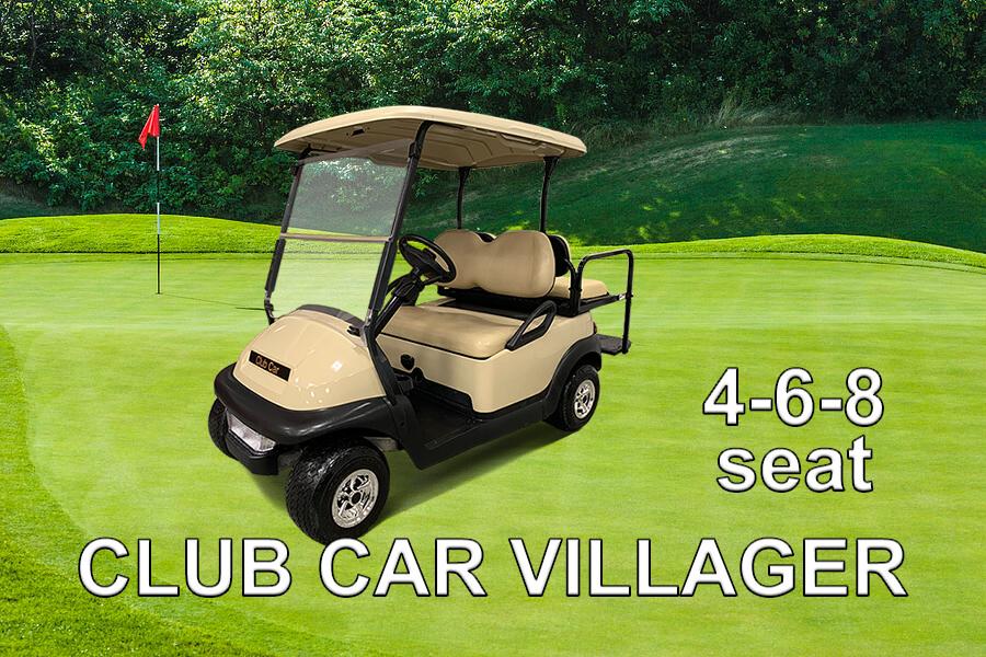 Club Car 4-6-8 Seat