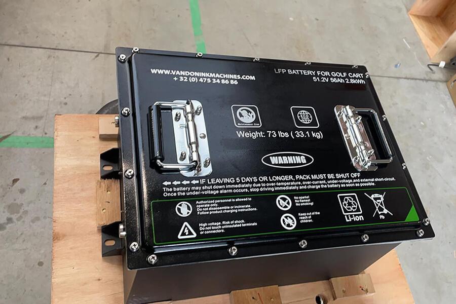 Lithium Batterijen Vandoninkmachines